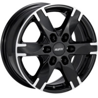 Alutec Titan Цвет: diamant black front polished - Шинный центр Cordiant